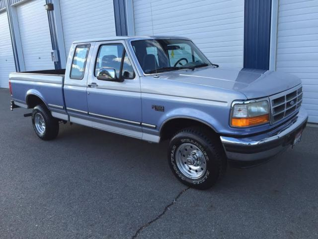 Ford F Supercab X Xlt Actual Miles Owner No Rust Clean V