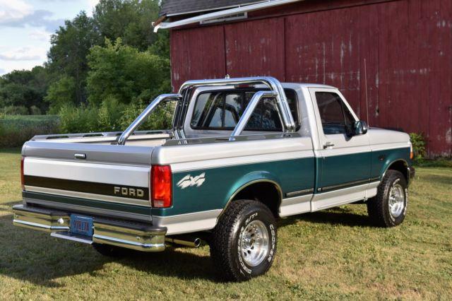 1996 ford f150 xlt 4x4 short box 302 v8 31k miles survivor truck barn find 96. Black Bedroom Furniture Sets. Home Design Ideas