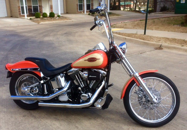 1996 Harley Davidson Fxstc Softail Custom Factory Paint