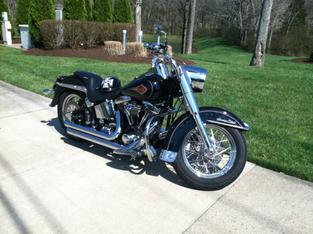 1996    Harley       Davidson       Heritage       Softail     Custom Pristine Condition