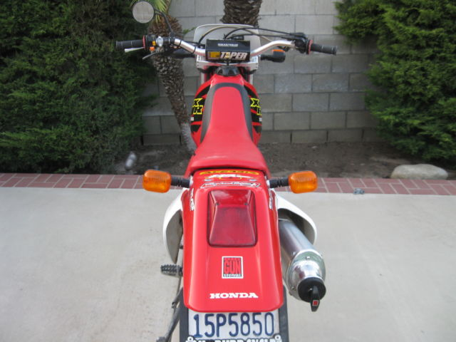 Honda Xr R Street Legal Dualsport on Baja Designs Dual Sport Kit