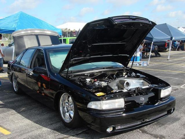 1996 Impala Ss Custom Show Car New Paint Bagged Beautiful