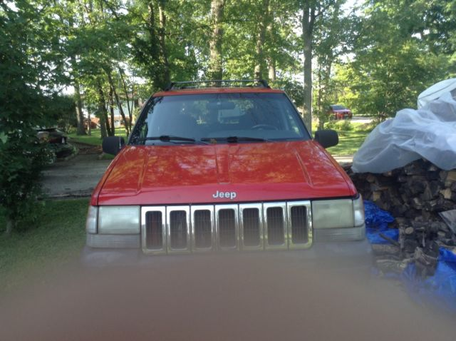 1996 Jeep Grand Cherokee Laredo 4x4 1996 Viking Pop Up Camper