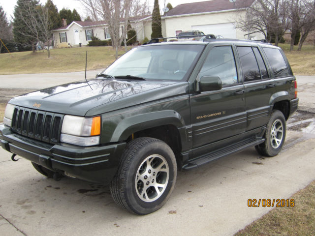 1996 jeep grand cherokee orvis edition. Black Bedroom Furniture Sets. Home Design Ideas