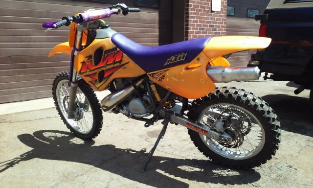 Ktm mxc 1996 technical specifications