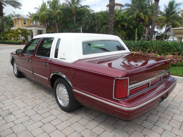 1996 Lincoln Town Car Cartier Presidential Edi Low Miles Garage