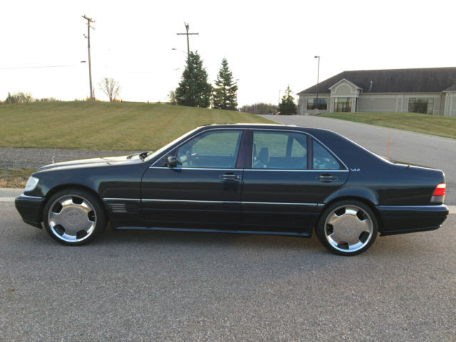 1996 Mercedes Benz S600 W140 V12 Custom Lorinser 59k