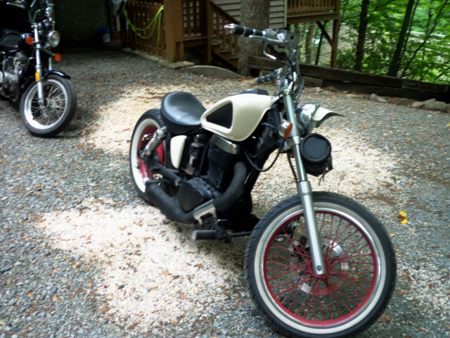 1996 suzuki 650 savage bobber. Black Bedroom Furniture Sets. Home Design Ideas
