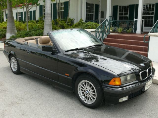 BMW I CONVERTIBLE BLACK BEAUTY - 1997 bmw 328i convertible