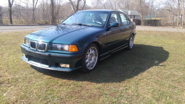 1997 Bmw M3 Base Sedan 4 Door 75k Miles One Owner All Stock 97 M3 E36