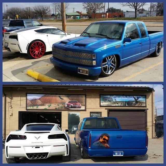 1997 Chevrolet Silverado Custom Hot Rod Truck