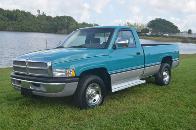 1997 dodge ram 2500 slt laramie 5 9 cummins turbo diesel 12 valve clean fl truck. Black Bedroom Furniture Sets. Home Design Ideas