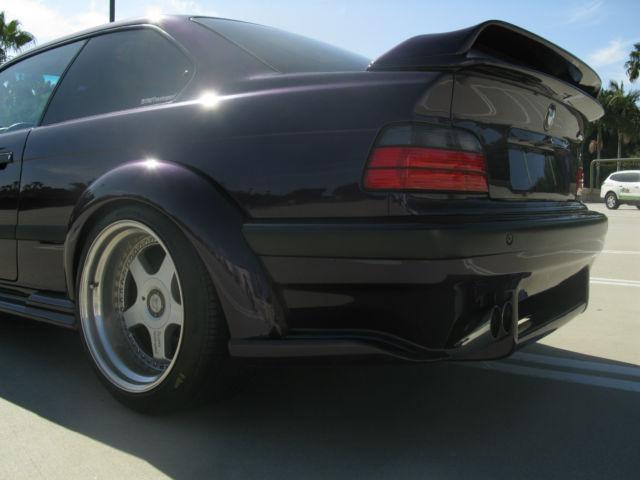 1997 E36 M3 TOTAL BMW Hamann Bullet Proof Wide Body SHOW CAR
