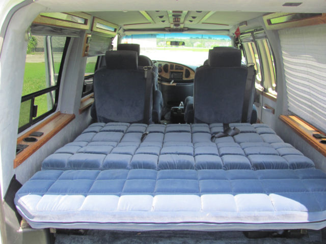 Conversion Van 3rd Row Sofa Bed Tow Package