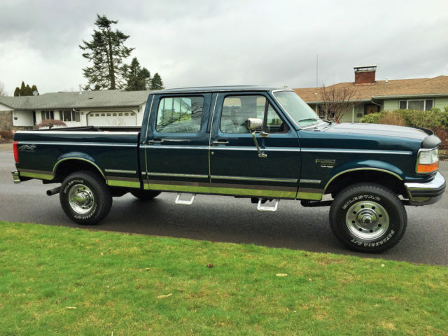 1995 ford f250 crew cab short bed