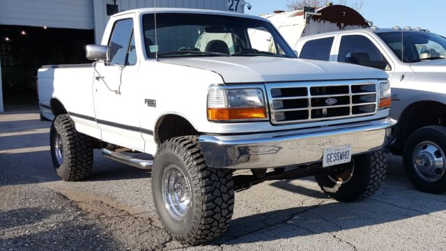 1997 Ford F250 regular cab, 6 inch suspension skyjacker ...
