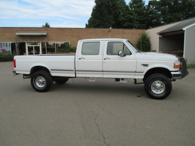 1997 ford f350 xlt crew cab long box 4x4 7 3l powerstroke turbo diesel. Black Bedroom Furniture Sets. Home Design Ideas