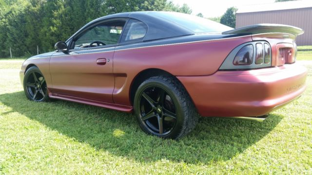 1997 ford mustang gt custom matte   flat paint tons of Fuel Filter Located On a Ford Explorer