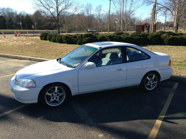 1997 Honda Civic Ex Coupe 2 Door 1 6l