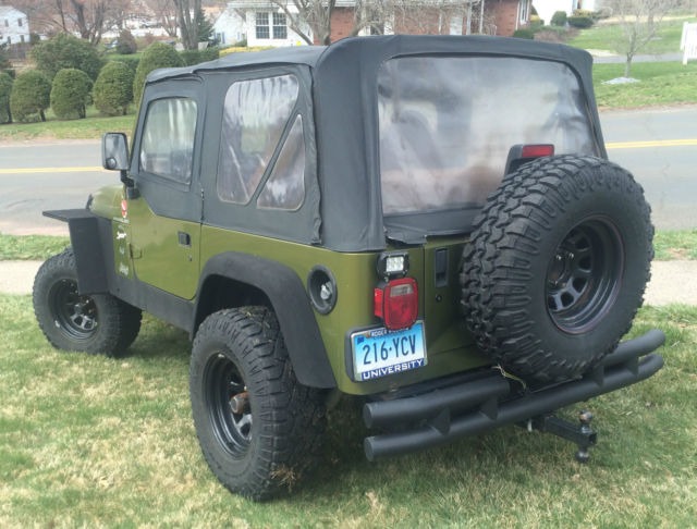 1997 jeep wrangler tj sport winch  bumpers  tires
