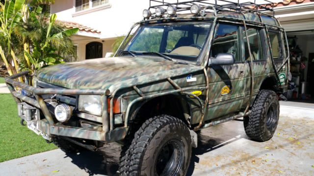 1997 Land Rover Discovery Disco 1 Extreme Off Road Modified