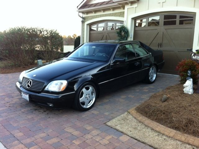 1997 mercedes benz s600 v12 coupe 2 door 6 0l for Mercedes benz s600 coupe