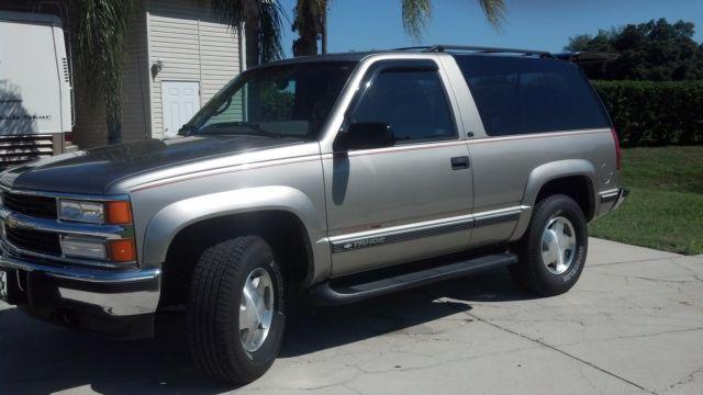 1998 chevrolet tahoe lt sport utility 2 door 6 5l diesel. Black Bedroom Furniture Sets. Home Design Ideas