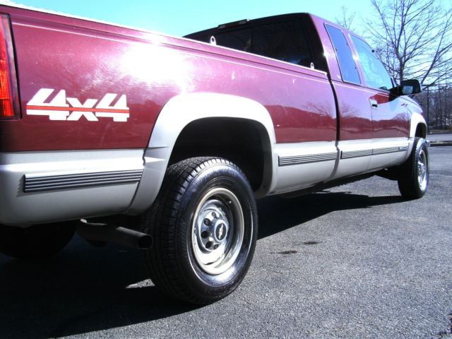 Chevy K Silverado X Turbo Diesel Low Miles Long Bed Loaded No Reserve