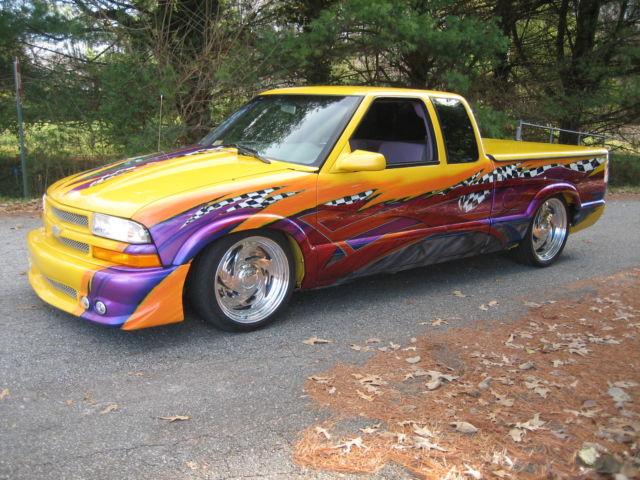 chevy s10 show trucks