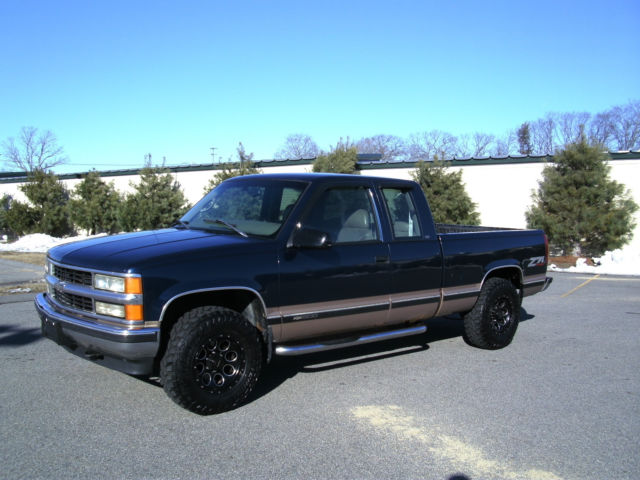 1998 chevy silverado lt k1500 z71 4x4 extended cab 3rd. Black Bedroom Furniture Sets. Home Design Ideas