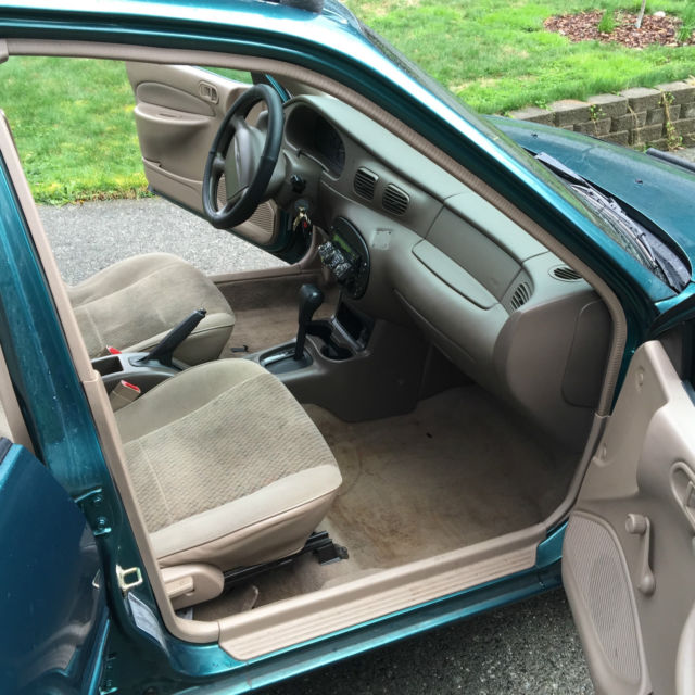 1998 ford escort se wagon 4 door 2 0l green exterior tan interior running vehicles markets com