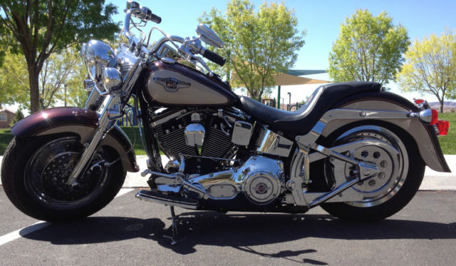 Harley Davidson Fatboy Blue Book