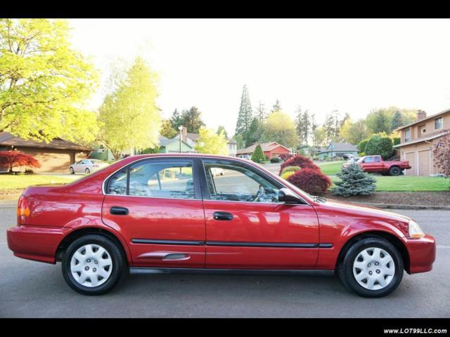 Honda Civic 1998 Technical Specifications