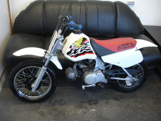 1998 Honda XR70 dirt bike