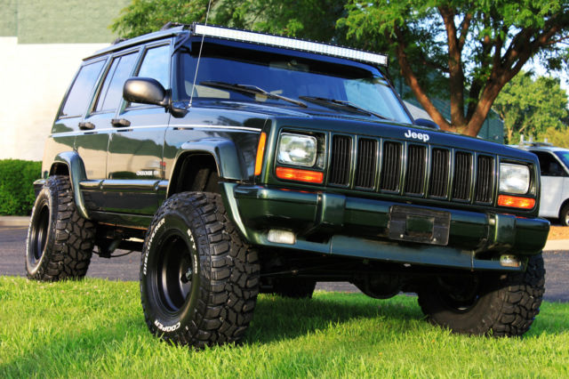 1998 Jeep Cherokee Limited Xj 70k Low Miles 1 Owner New