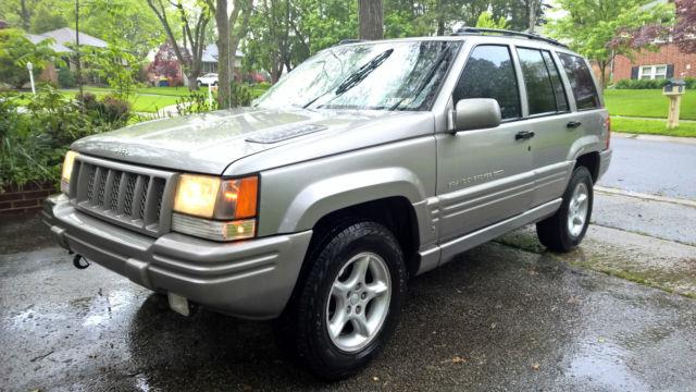 1998 jeep grand cherokee 5 9 limited sport utility 4 door 5 9l platinum. Black Bedroom Furniture Sets. Home Design Ideas
