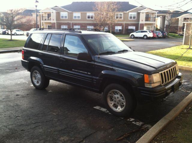 1998 jeep grand cherokee limited 5.2l v8 4x4 suv