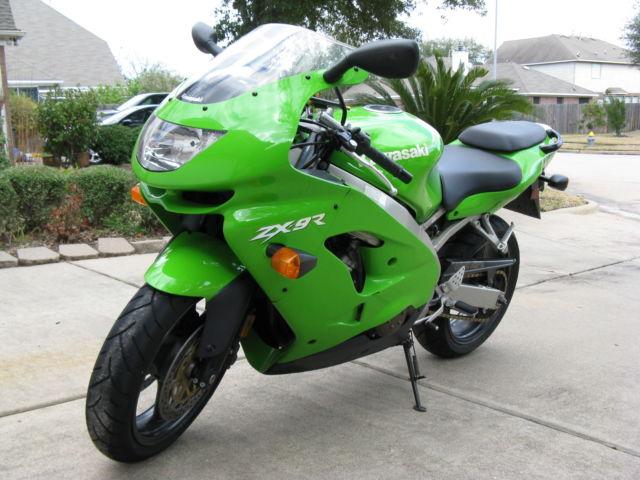 1998 Kawasaki Ninja Zx9r Zx900c1 Lime Green Good Condition