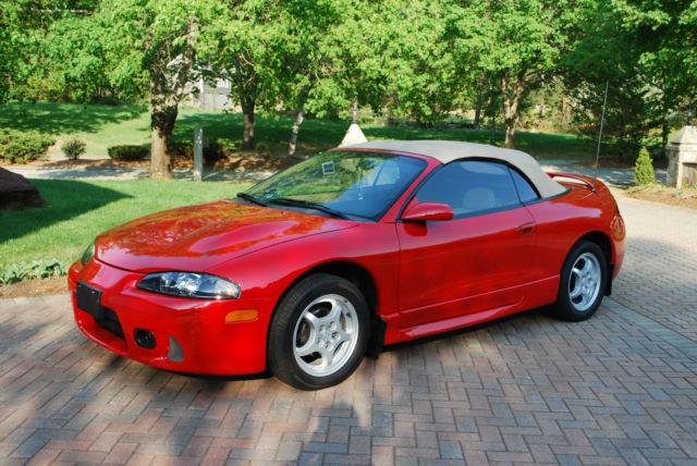 1998 mitsubishi eclipse spyder gs convertible 2 door 2 0l vehicles markets com