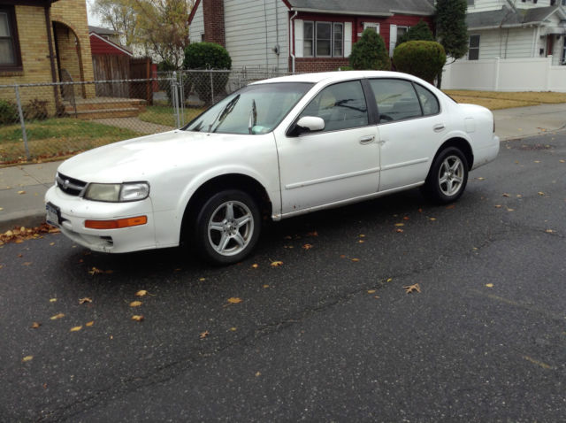 1998 nissan maxima white low price vehicles markets com