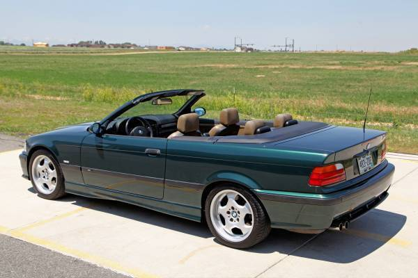 1999 Bmw E36 M3 Convertible 49k Miles Fern Green