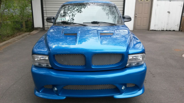Dodge Dakota Rt L V Cervinis Sniper Body Kit Infinity Perfect Sound on 1999 Dodge Dakota Blue