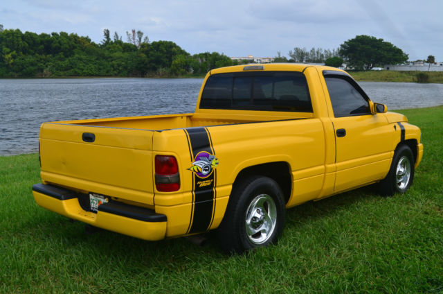 1999 Dodge Ram 1500 5.9 V8 SPORT Rumble Bee Clone Custom ...
