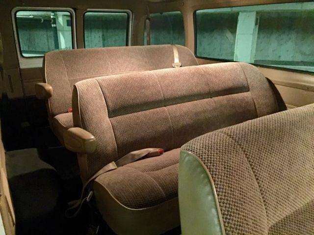 1999 Dodge Ram Van 3500 15 Passenger Van Camper Conversion