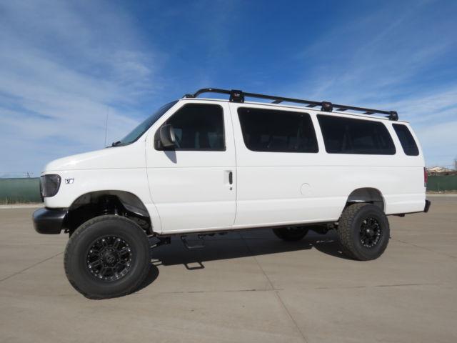 27749447be702c 1999 Ford E-350 Extended 15 Passenger 4x4 Conversion Van 7.3 Diesel 96K  Miles V8