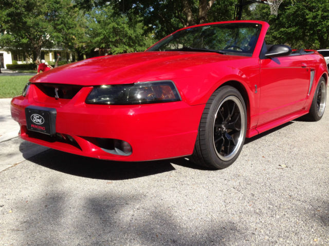 1999 Ford Mustang SVT Cobra Convertible 2-Door 4 6 Turbo Hellion