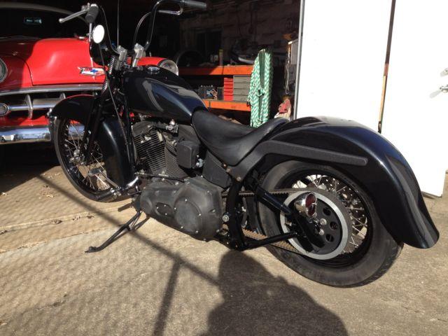 Harley Softail Fenders : Harley davidson night train evo springer heritage