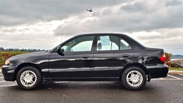 1999 Hyundai Accent GL Sedan 15l 4cyl 4dr 36mpg Automatic Clean Title