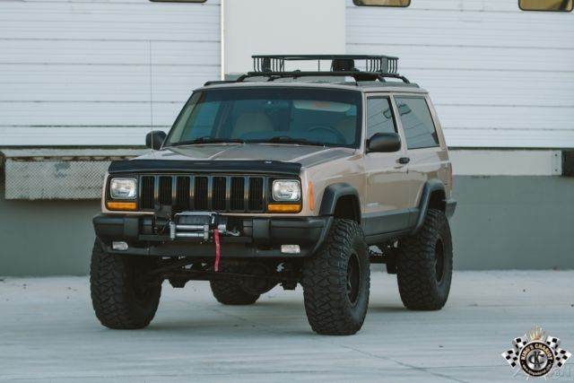 1999 Jeep Cherokee Xj Se Beautiful Garaged Sport Fresh