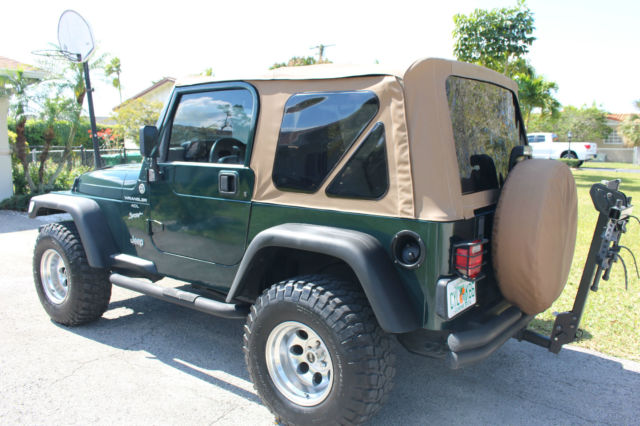 1999 Jeep Wrangler Sport 2-Door 4.0L - Green on Tan ...
